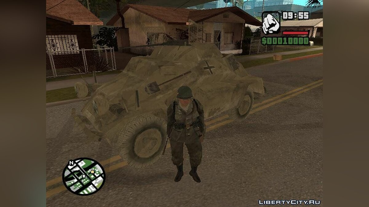 Call of Duty Vehicles pack для GTA San Andreas