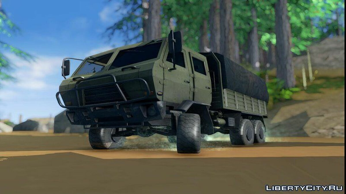 Dongfeng SX Military Truck для GTA San Andreas