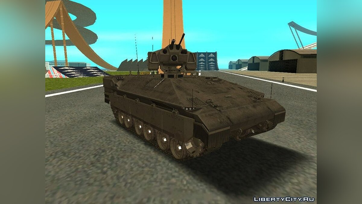 IFV-6c Panther Tracked IFV для GTA San Andreas - скриншот #2