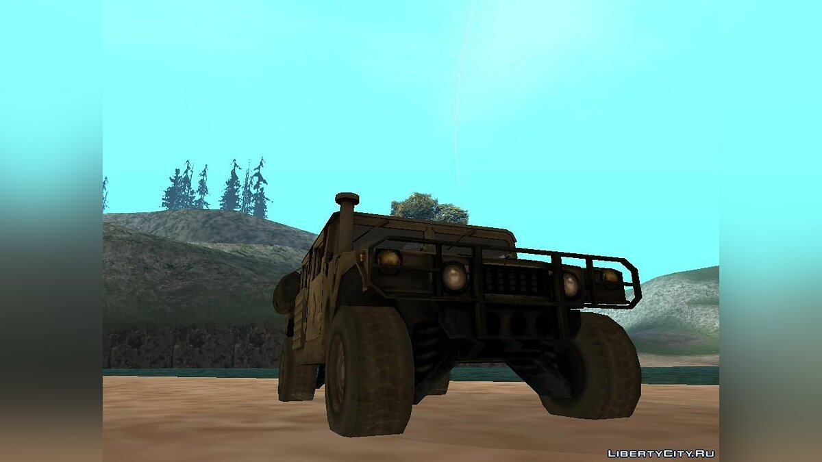 HMMWV from Battlefield 2 Fix Version [IVF, АПП, VSA] для GTA San Andreas