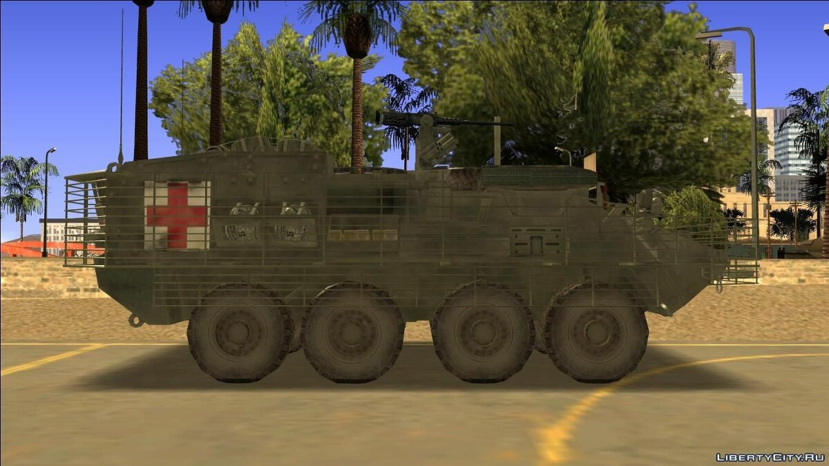 ARMA 2 Add-on: US Army MEV Stryker for GTA San Andreas для GTA San Andreas