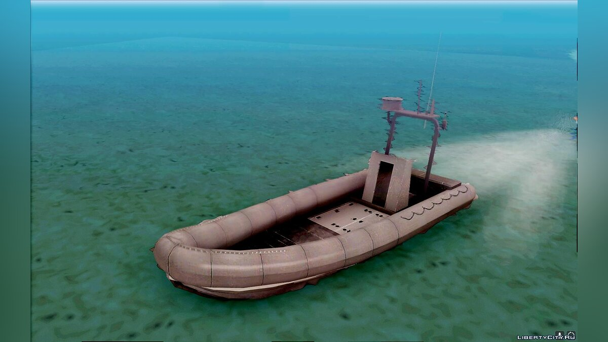 "Rigid Inflatable Boat ""RIB"" from BF2 для GTA San Andreas"