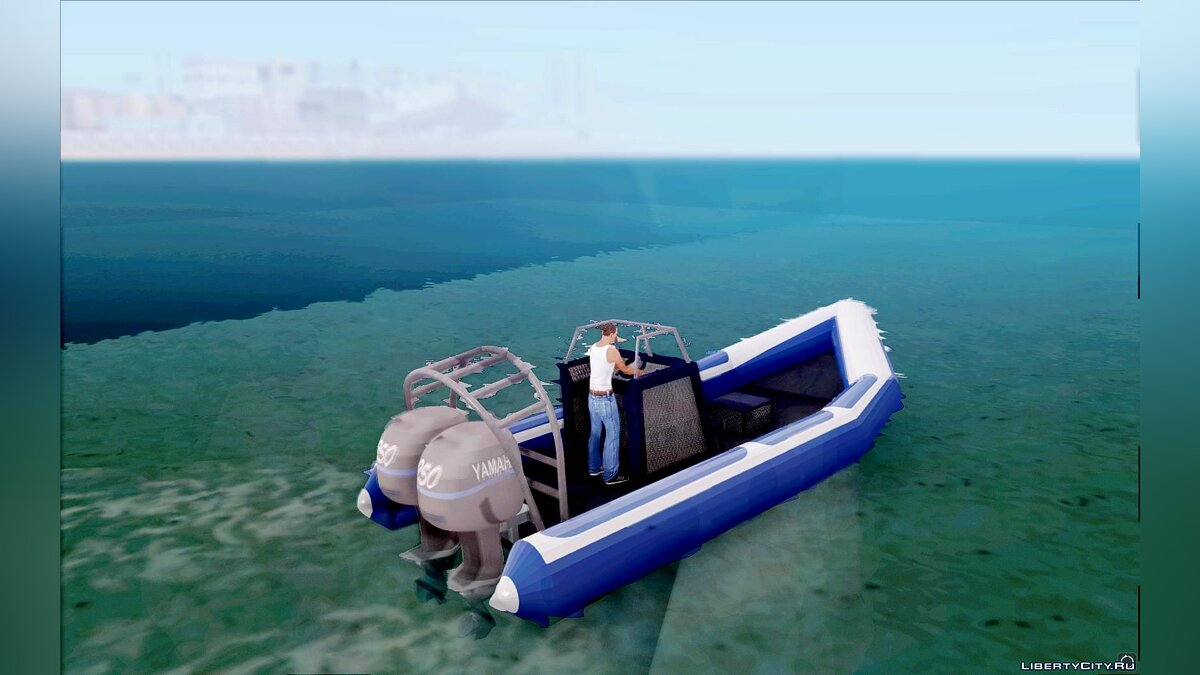 Лодка и катер Mariner для GTA San Andreas