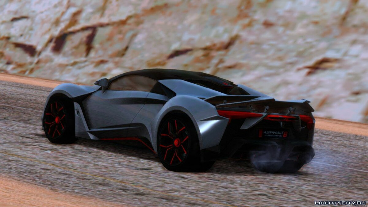 Машина W Motors W Motors Fenyr Supersport для GTA San Andreas