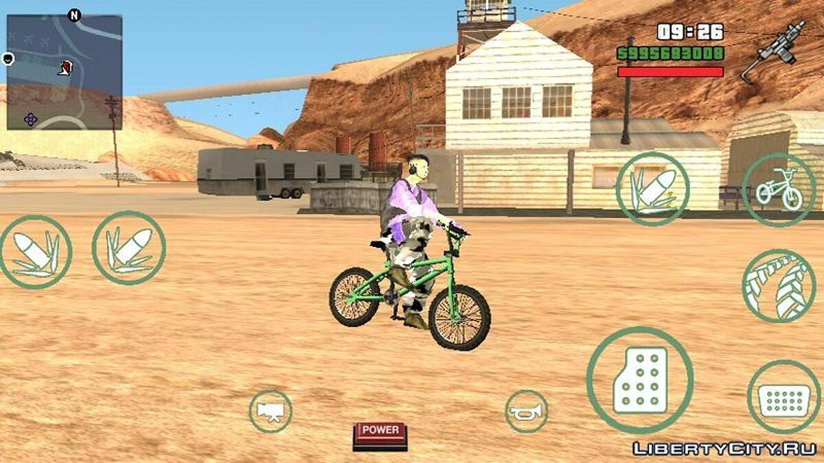 Велосипед GTA V Bike для GTA San Andreas (iOS, Android)