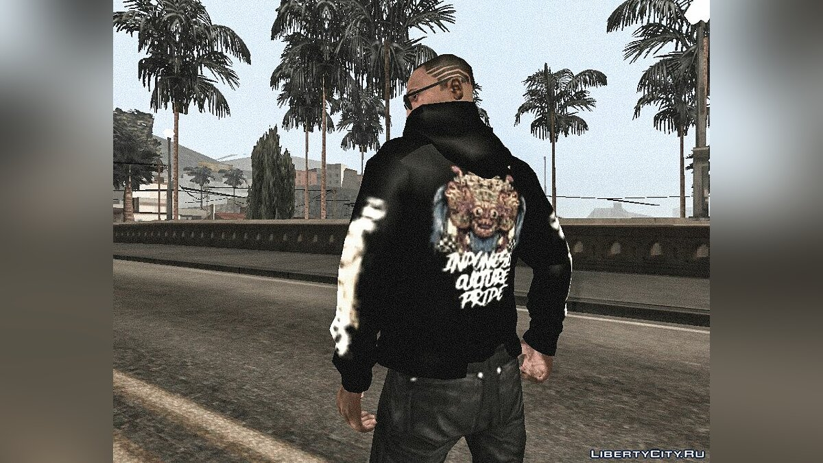 Футболка и кофта Кофта AHHA Barong для GTA San Andreas (iOS, Android)