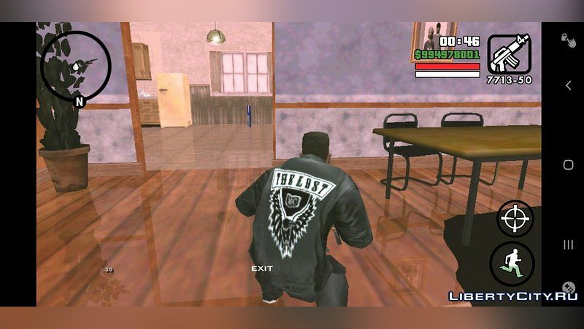 Футболка и кофта Куртка The Lost MC для GTA San Andreas (iOS, Android)