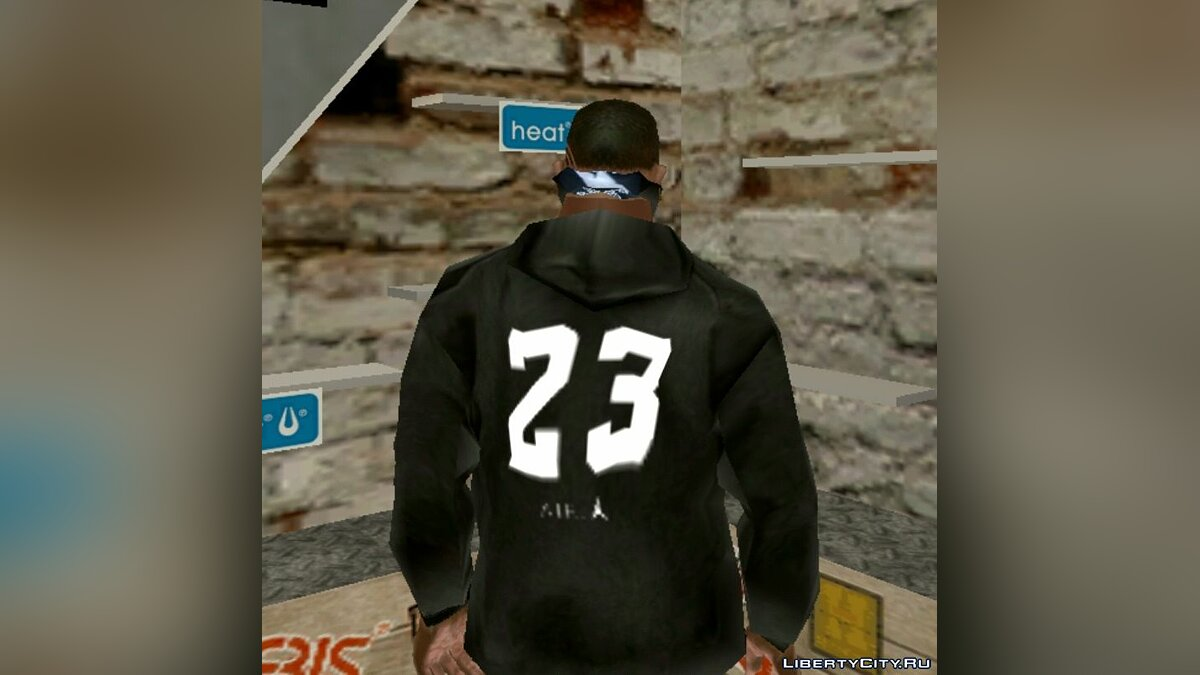 Футболка и кофта Jordan Hoody для GTA San Andreas (iOS, Android)