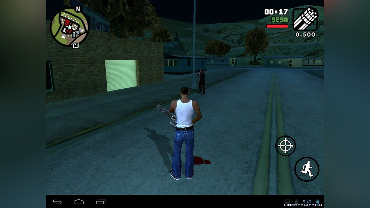 ��ольшой мод Mysterix mod 10.0 (Android) для GTA San Andreas (iOS, Android)