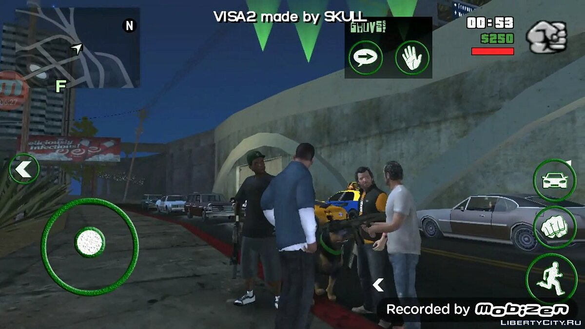VISA2 v1.4 для GTA San Andreas (iOS, Android)
