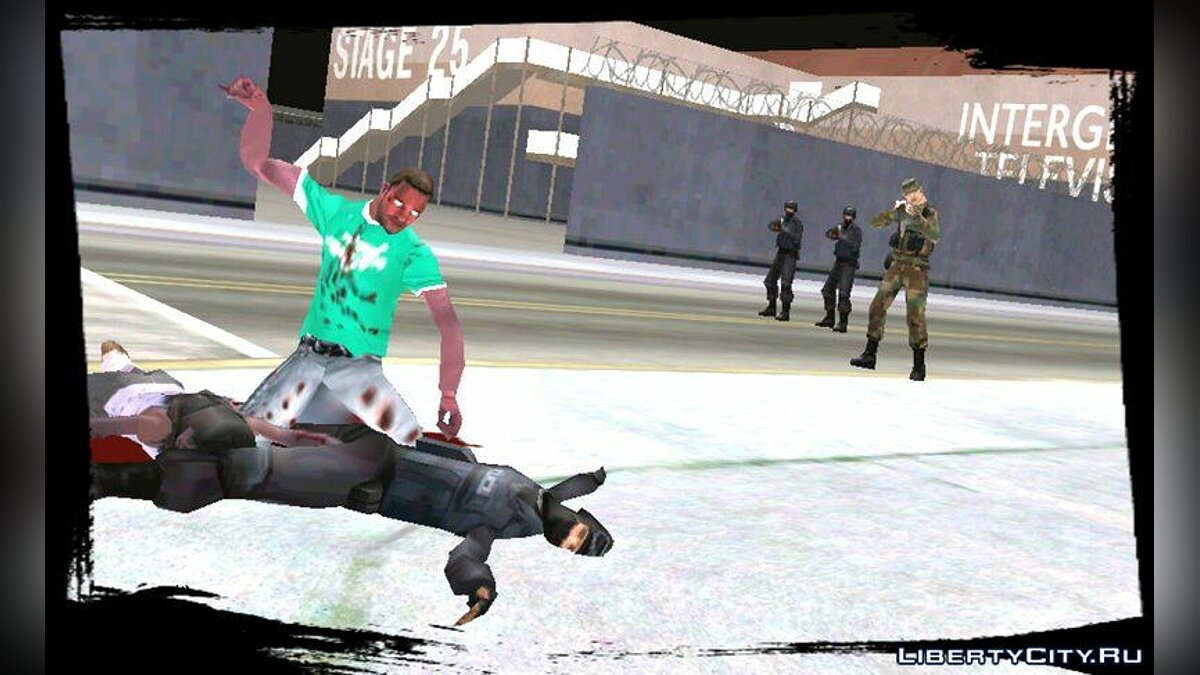 Zombie Mod for Android v1.5 для GTA San Andreas (iOS, Android) - скриншот #4