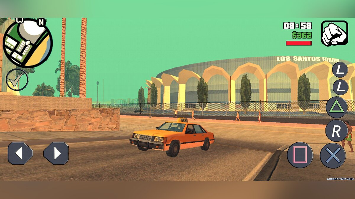 Большой мод GTA SA BETA v5.0 для GTA San Andreas (iOS, Android)