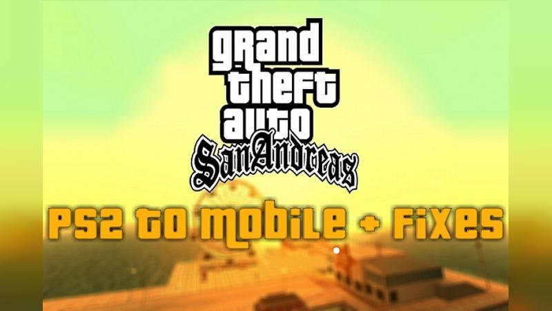 PS2 to Mobile + Fixes (обновление от 19.04.2021) для GTA San Andreas (iOS, Android) - Картинка #1