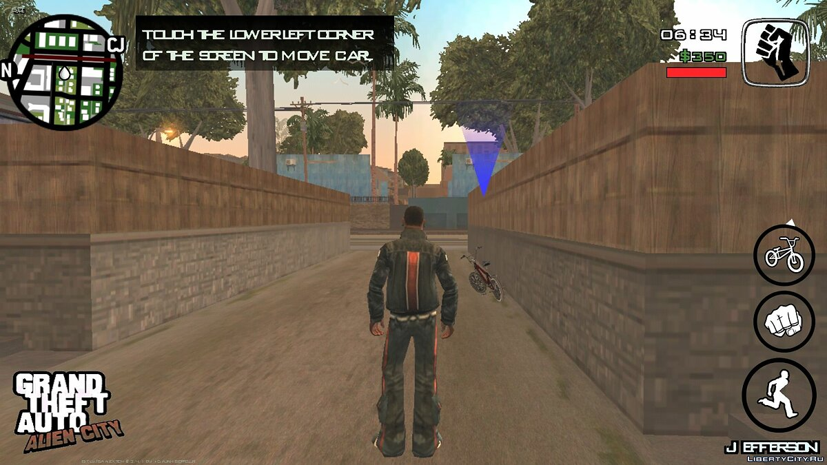 Большой мод Alien City (Android) 3.0 для GTA San Andreas (iOS, Android)