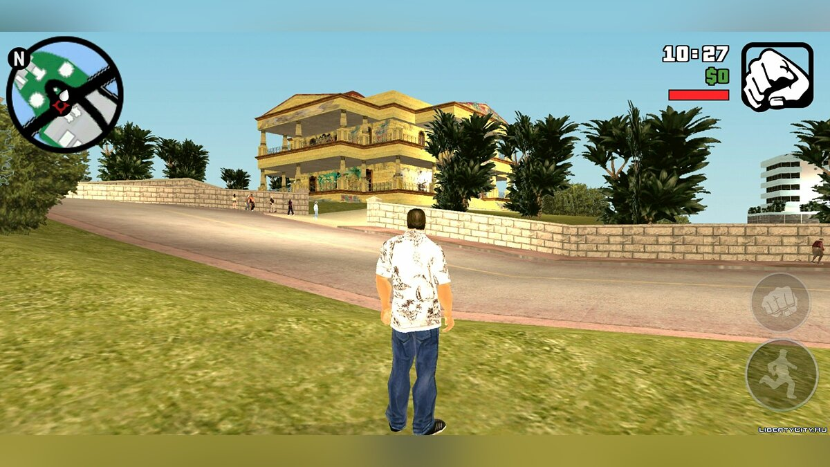 Большой мод GTA VCtoSA Android Beta для GTA San Andreas (iOS, Android)