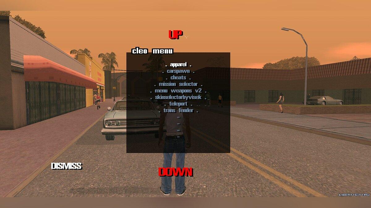 Программа CLEO GTA SA 2.0 без Root прав для GTA San Andreas (iOS, Android)