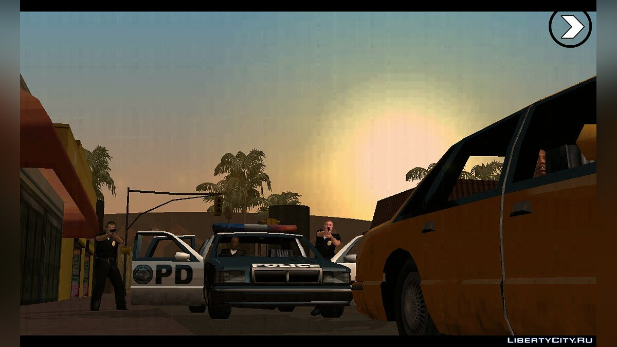 Программа Ultimate GTA SA APK (1.08) для GTA San Andreas (iOS, Android)