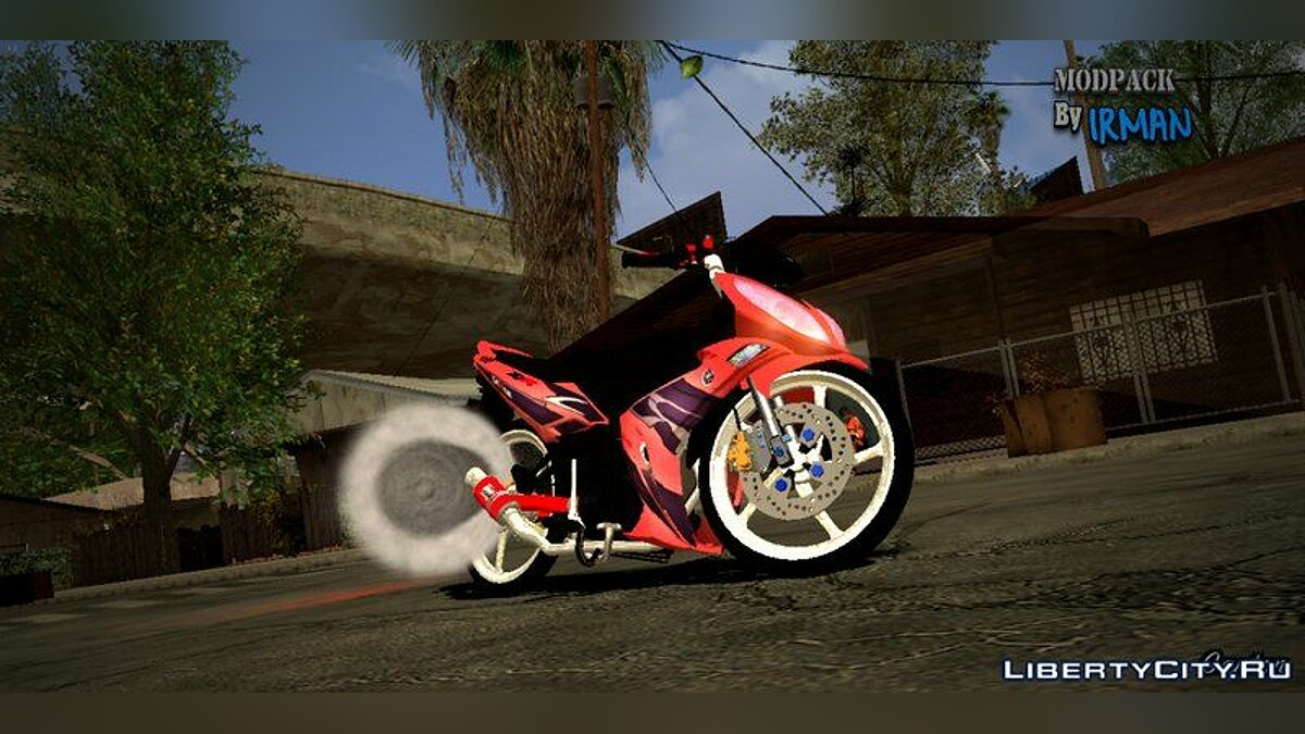 Мотоцикл Yamaha X-1R Merah для GTA San Andreas (iOS, Android)