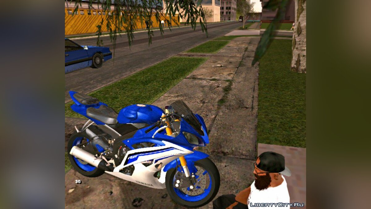 Мотоцикл Yamaha YZF R6 для GTA San Andreas (iOS, Android)