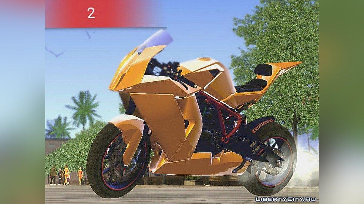 KTM1990 RC8 для GTA San Andreas (iOS, Android) - Картинка #2