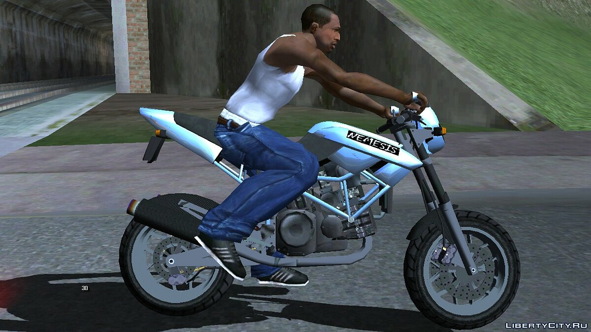Мотоцикл Principe Nemesis  для GTA San Andreas (iOS, Android)