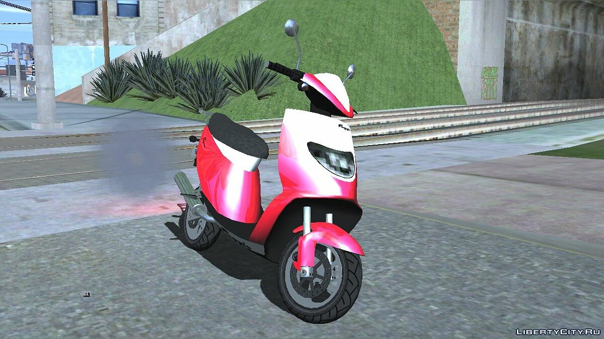 Мотоцикл Pegassi Faggio Sport из GTA 5 для GTA San Andreas (iOS, Android)