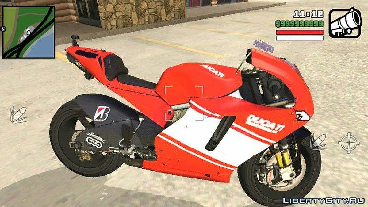 Ducati For Android для GTA San Andreas (iOS, Android)