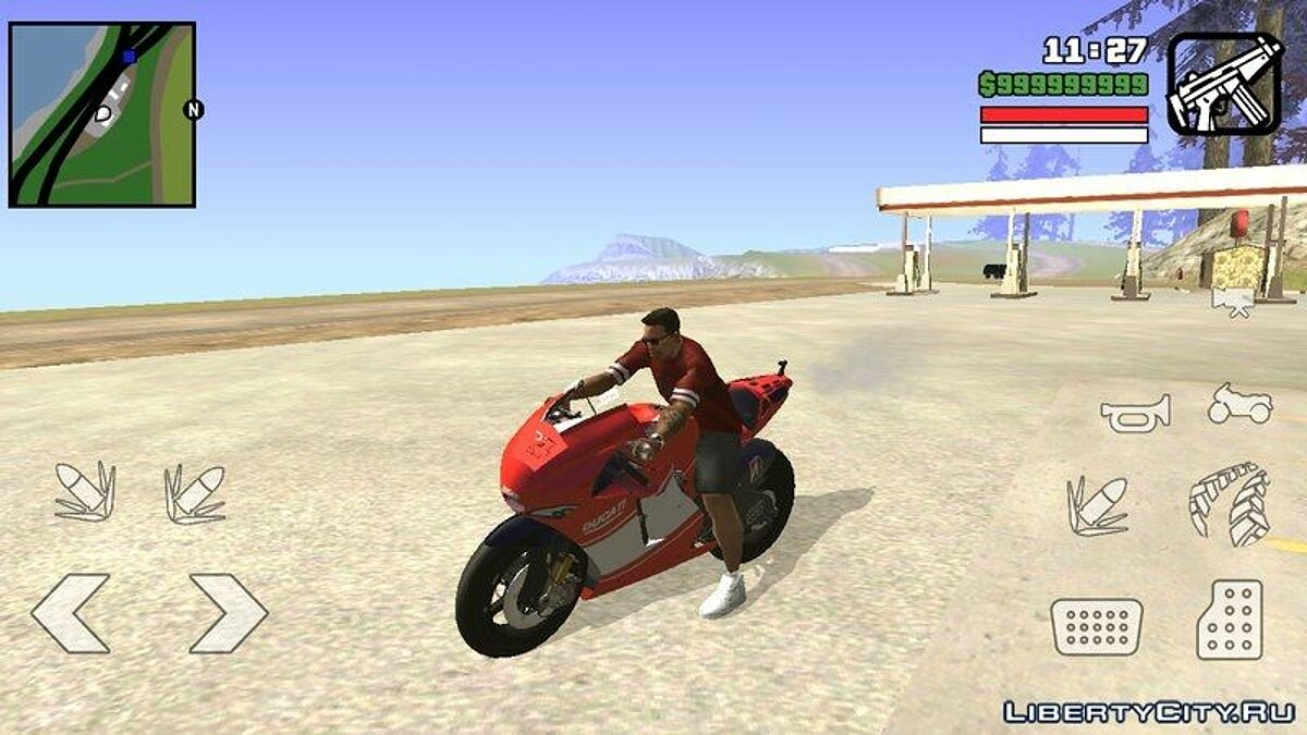 Ducati For Android для GTA San Andreas (iOS, Android) - скриншот #2