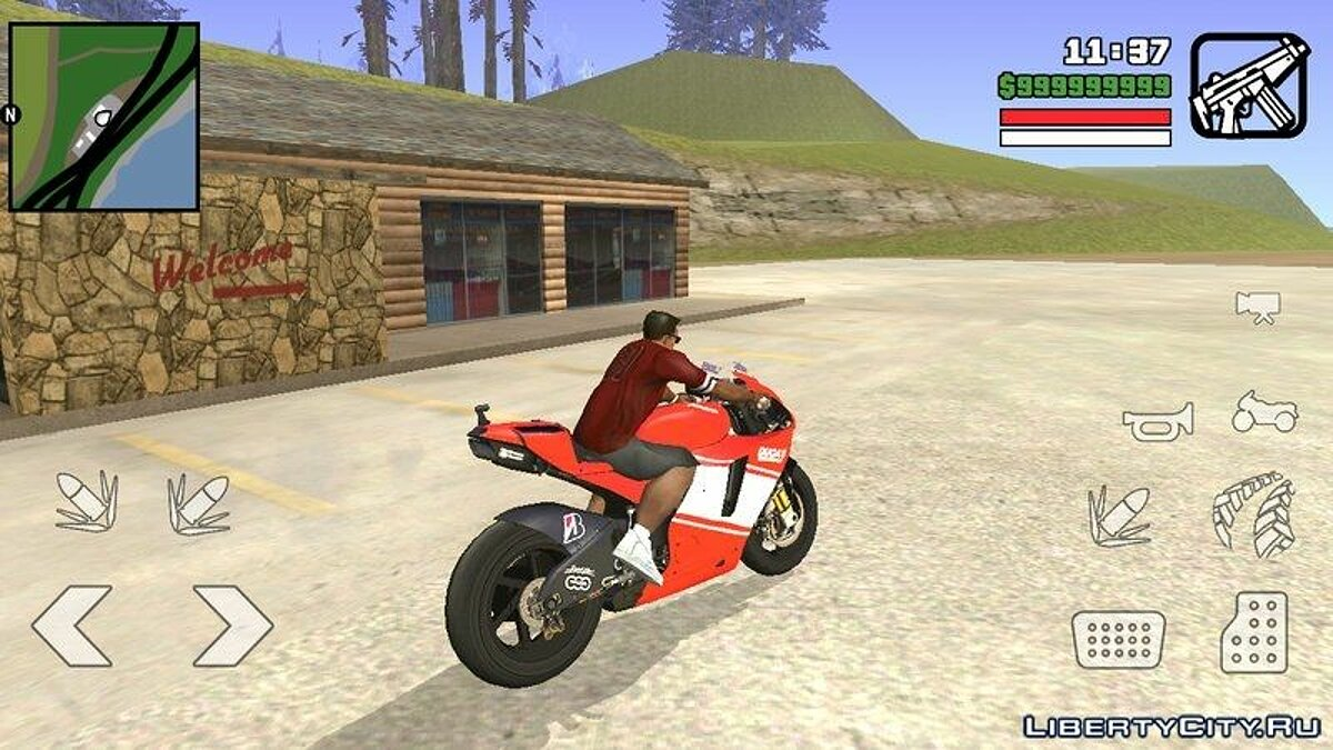 Ducati For Android для GTA San Andreas (iOS, Android) - скриншот #3