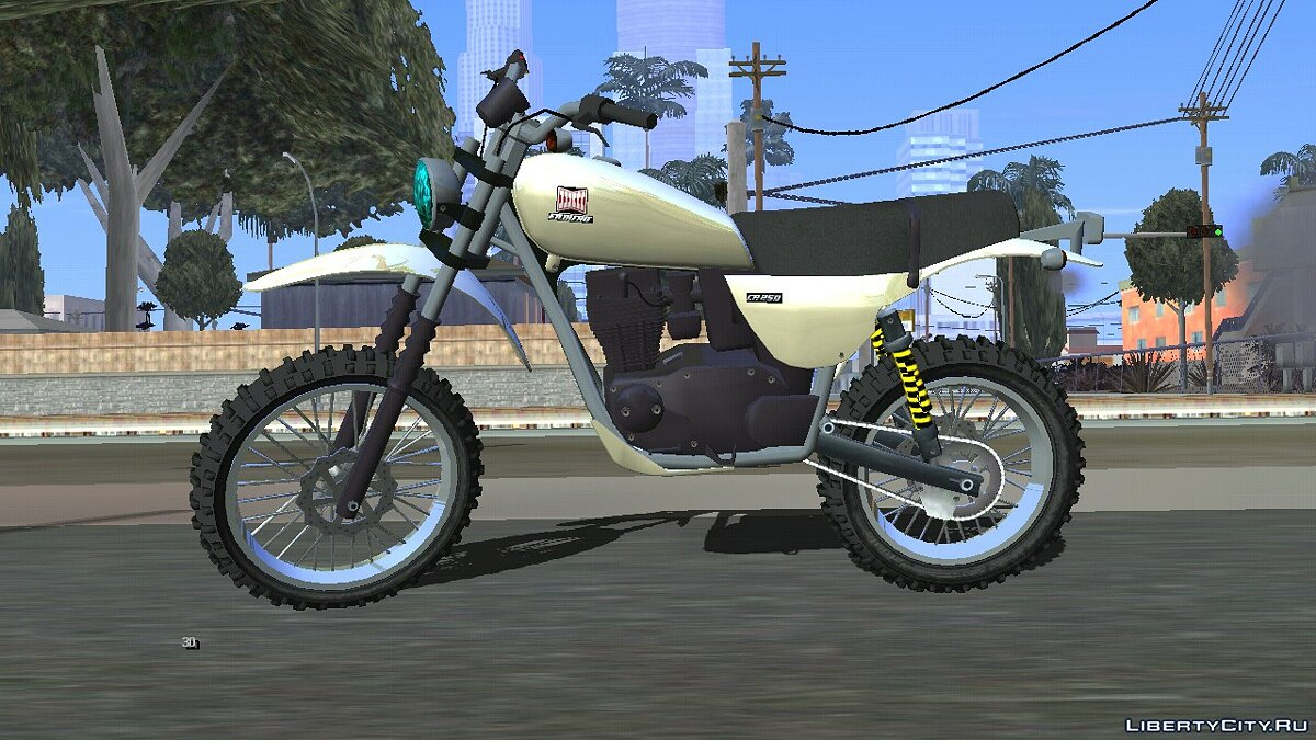 Мотоцикл Dinka Enduro для GTA San Andreas (iOS, Android)