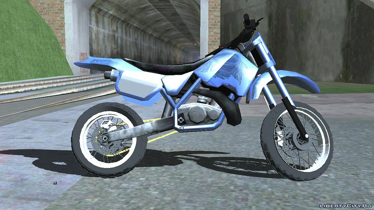 Мотоцикл BlueRay Sanchez R for Mobile для GTA San Andreas (iOS, Android)