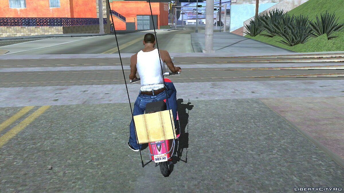 Мотоцикл Pegassi Faggio из GTA 5 для GTA San Andreas (iOS, Android)
