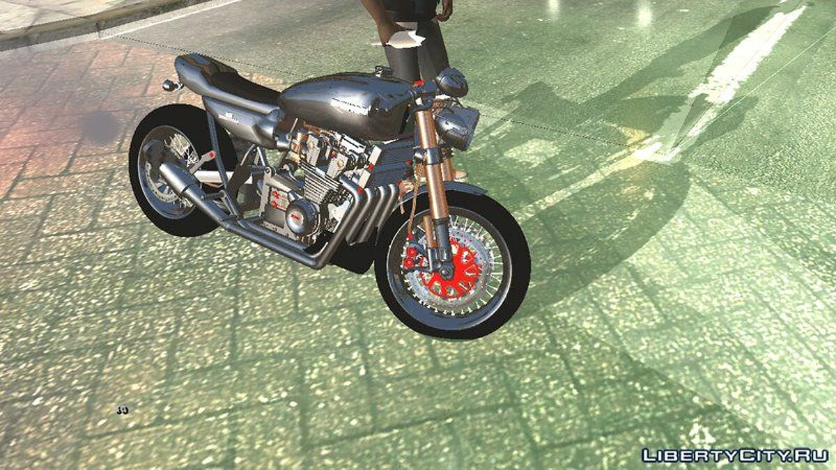 Мотоцикл Kawasaki Ninja 750 Cafe Recer для GTA San Andreas (iOS, Android)