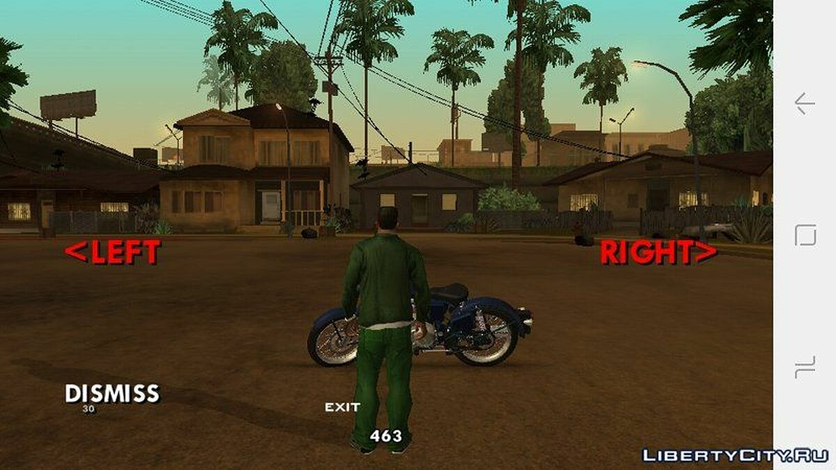 Мотоцикл Bullet Bike FK для GTA San Andreas (iOS, Android)