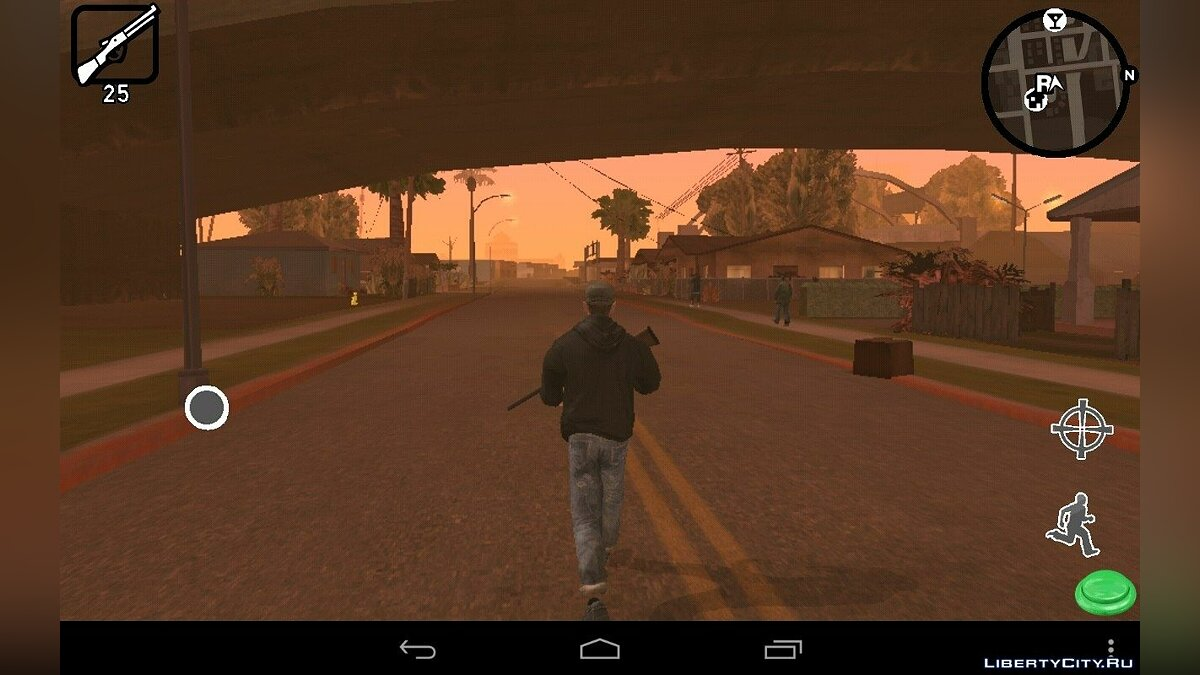 Мод HUD New Style(Android) для GTA San Andreas (iOS, Android)