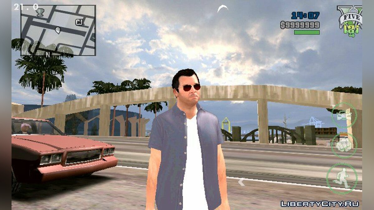 Timecyc High Quality for Skybox Android для GTA San Andreas (iOS, Android)