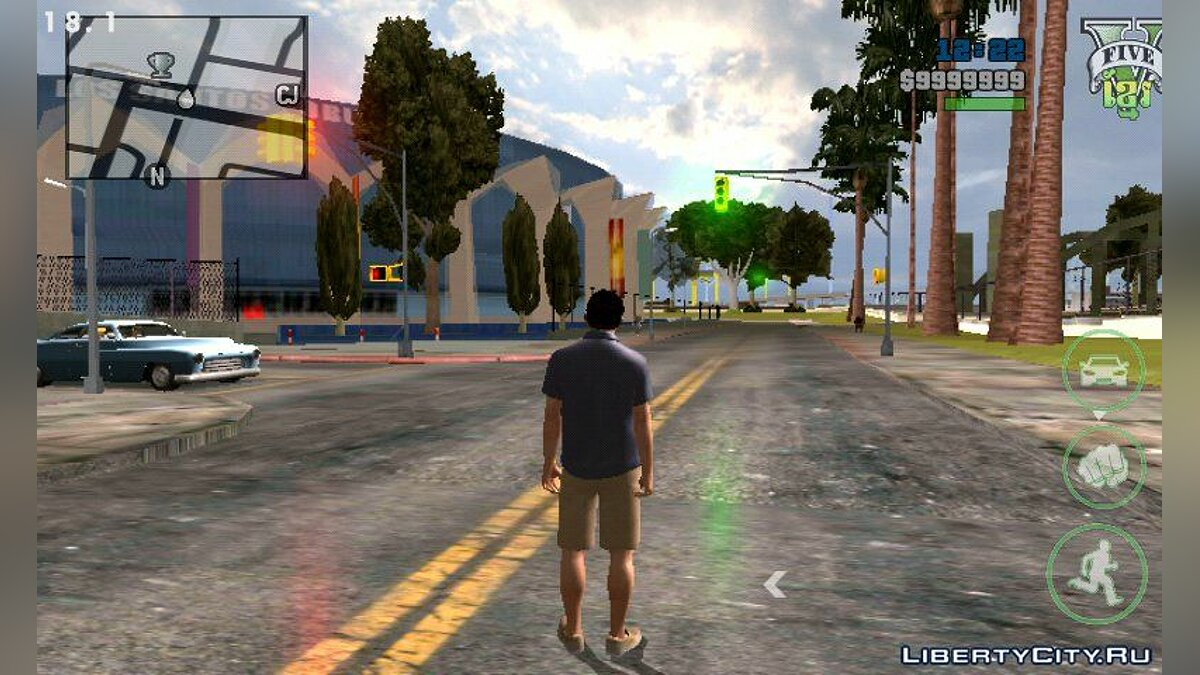 Timecyc High Quality for Skybox Android для GTA San Andreas (iOS, Android) - скриншот #3