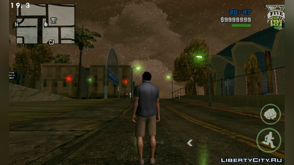 Мод Timecyc High Quality for Skybox Android для GTA San Andreas (iOS, Android)