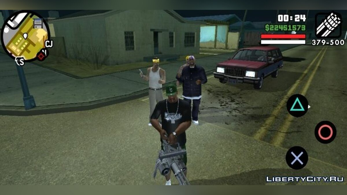Мод Союз банд для GTA San Andreas (iOS, Android)