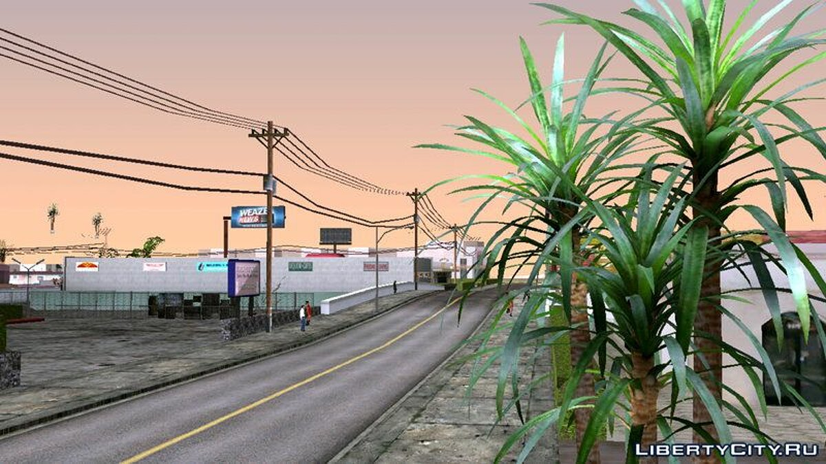 Мод N.A.P Cinematic Scenery Timecyc For Mobile для GTA San Andreas (iOS, Android)