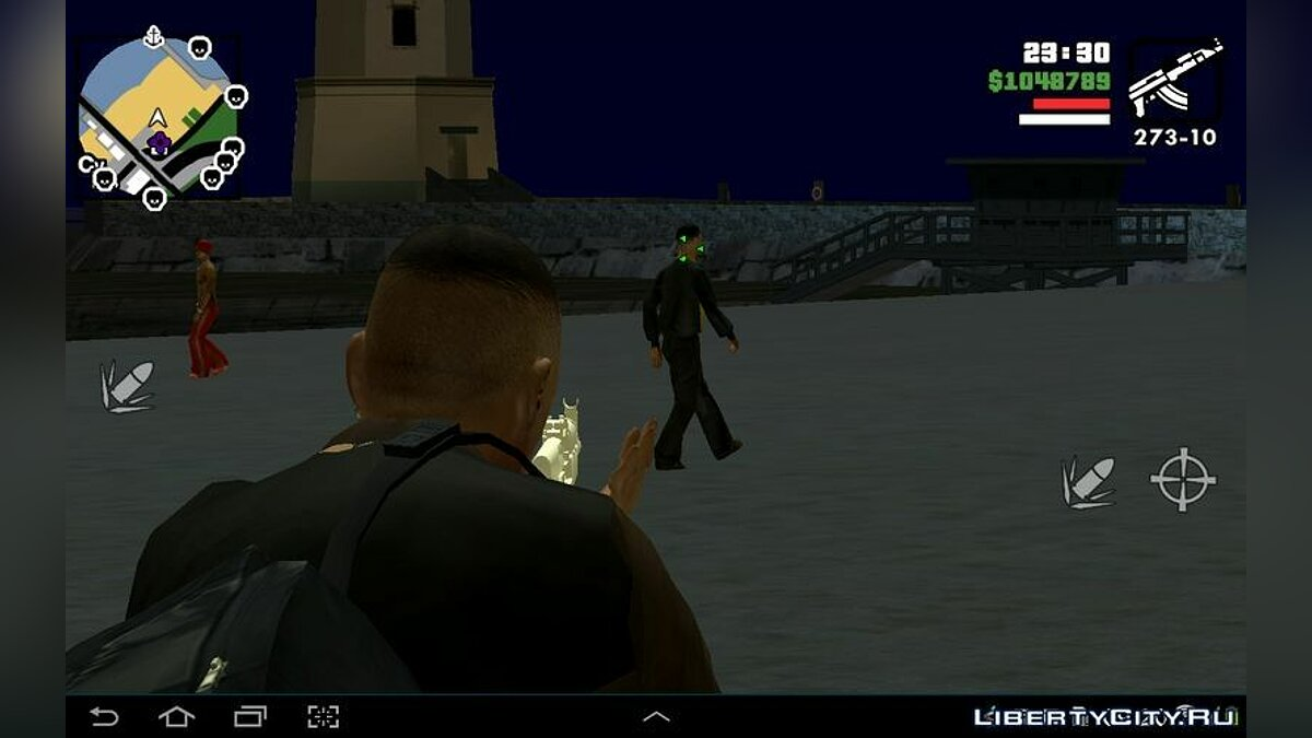 Мод GTA IV Weapon Zoom for Android для GTA San Andreas (iOS, Android)