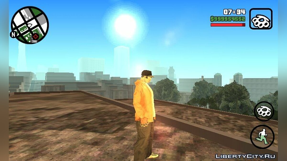 Extreme Graphics для GTA San Andreas (iOS, Android)