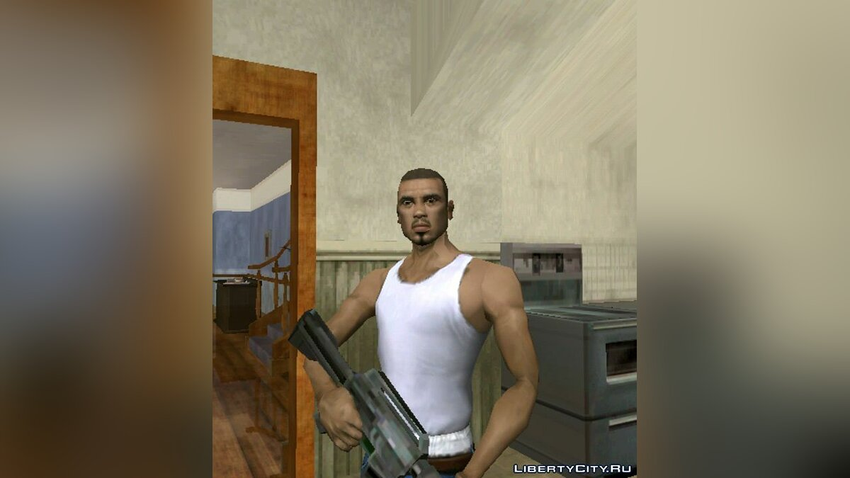 Новый персонаж Cesar Skin for Android для GTA San Andreas (iOS, Android)