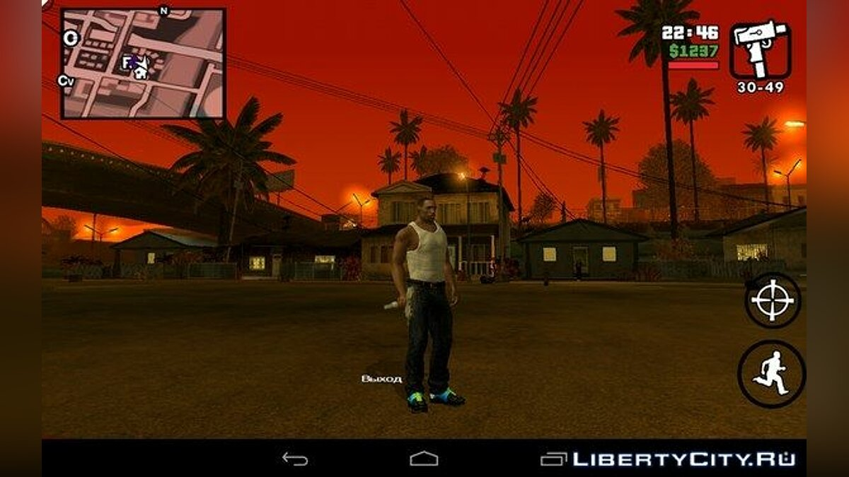 Новый персонаж CJ 2015 for Android/iOS для GTA San Andreas (iOS, Android)