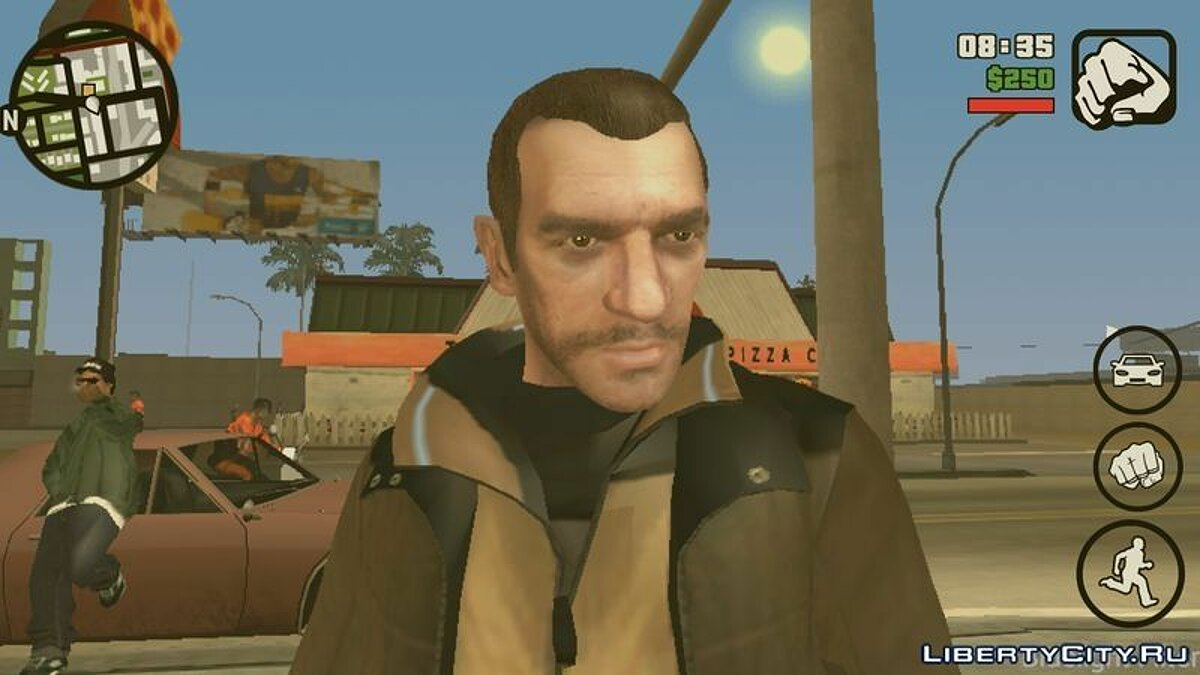 Niko Bellic Skin для GTA San Andreas (iOS, Android) - скриншот #2