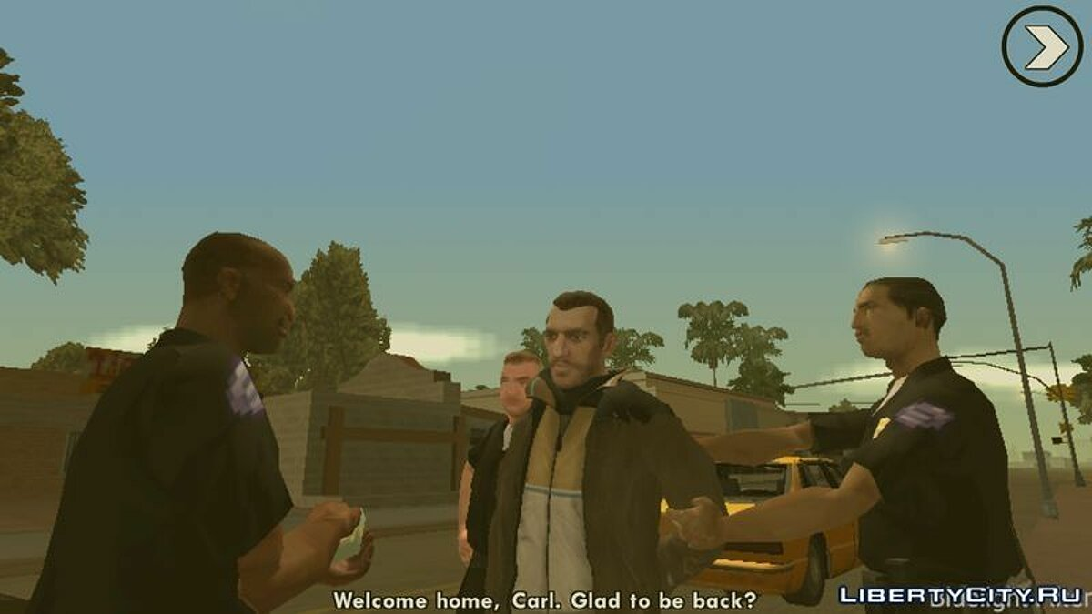 Niko Bellic Skin для GTA San Andreas (iOS, Android) - скриншот #3