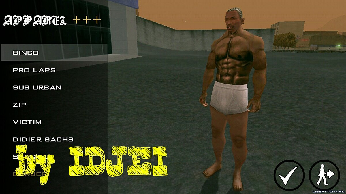 Player texture by IDJEI (1.0) для GTA San Andreas (iOS, Android) - скриншот #6