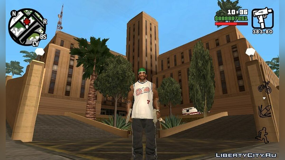 Hospital Interior Mod for Android для GTA San Andreas (iOS, Android)