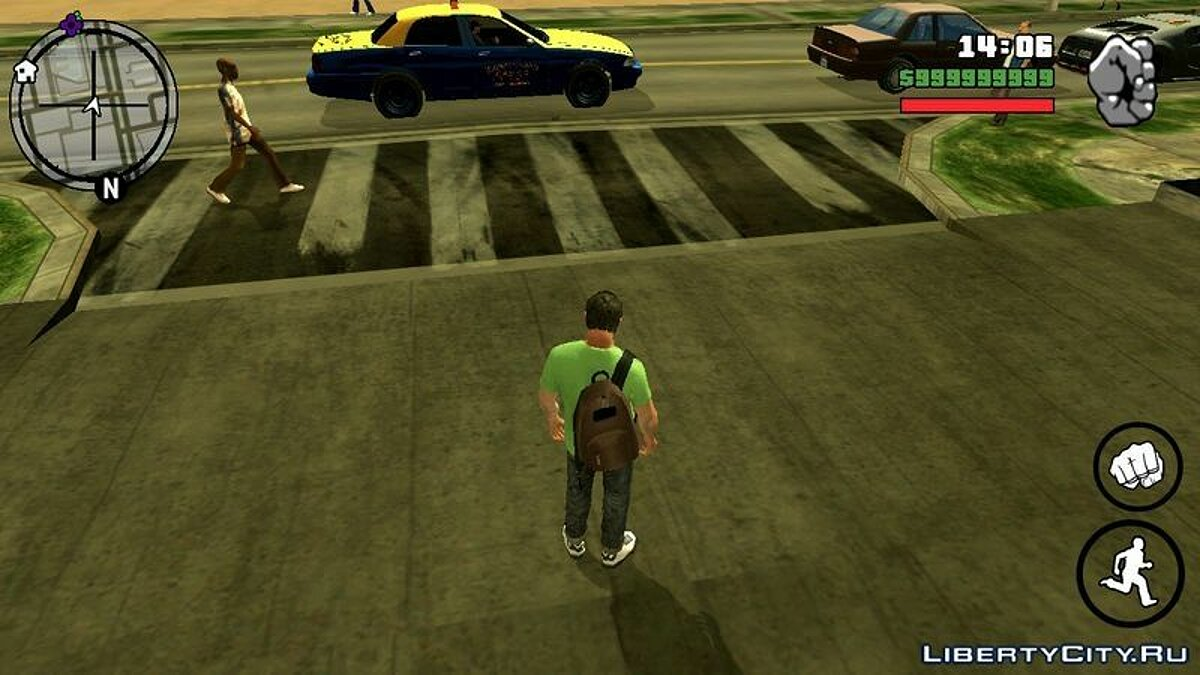 GTA V Texture Mod for Android для GTA San Andreas (iOS, Android) - скриншот #2