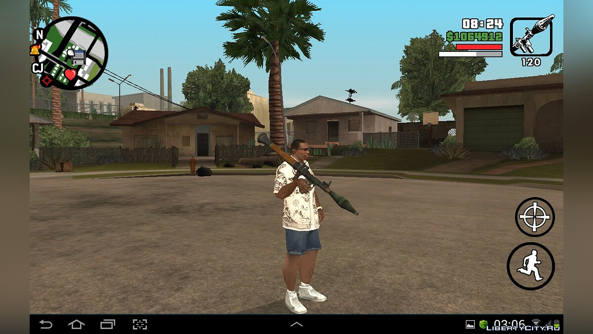 HD Weapons Pack for GTA SA Android/iOS для GTA San Andreas (iOS, Android) - Картинка #2